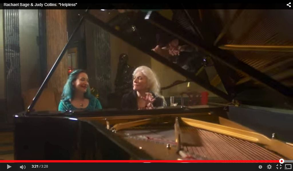 Judy Collins, Rachel Sage - Helpless Neil Young Cover