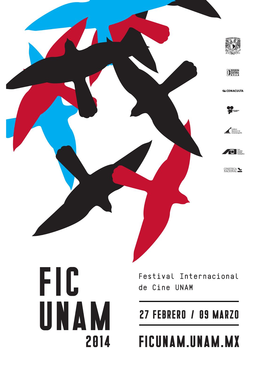 Pre-inauguración, cine experimental de 1965 y Libros en @FICUNAM 2014