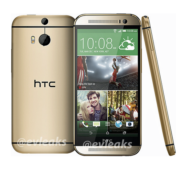 HTC M8 Gold Image Leaked