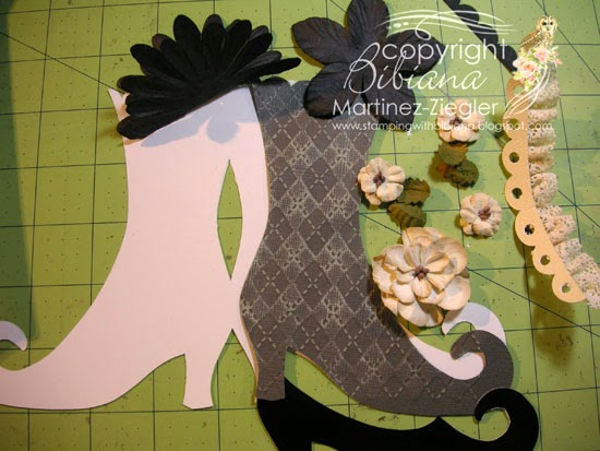 supplies halloween boot petaloo flowers