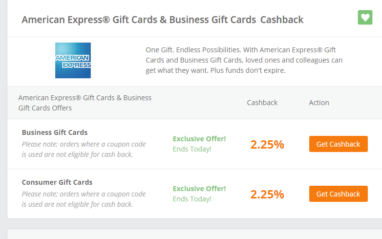 Orens Money Saver Hurry Tonight Only American Express Gift