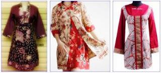 model pakaian batik modern 2013