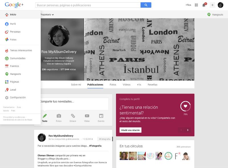 Comunidades en Google Plus