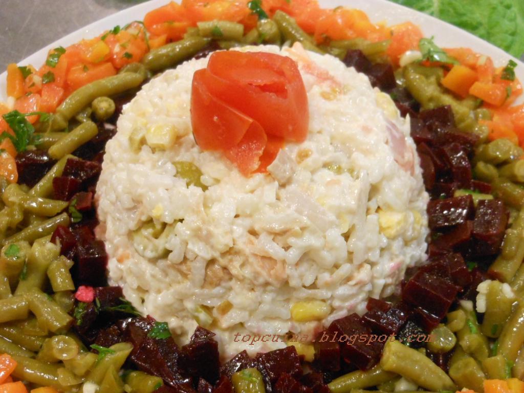 Top cuina ensalada de arroz con at n marroqu - Ensalada de arroz con atun ...
