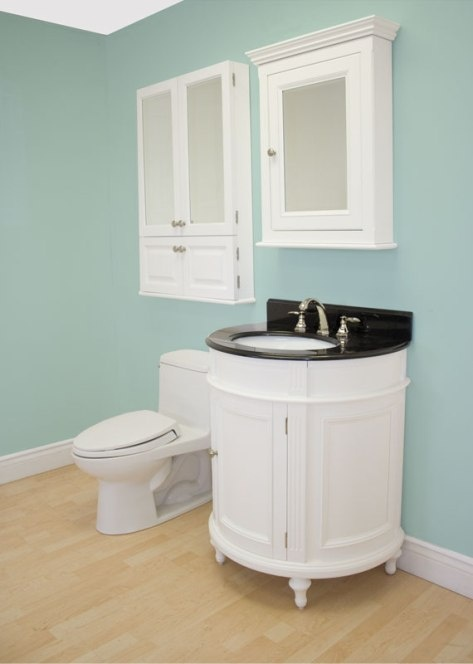 Muebles de ba o de color blanco ba os y muebles for Accesorios bano color blanco