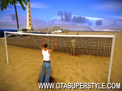 GTA SA - Mod Jogar Voleibol