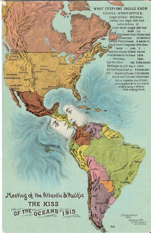 El beso de los oceanos (1915)