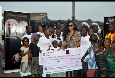 Beauty Queen, Maryam Elisha Doles Out N5m to Charity as she Celebrates Birthday
