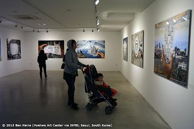 L'artiste Ben Heine Expose ses oeuvres d'art en Asie