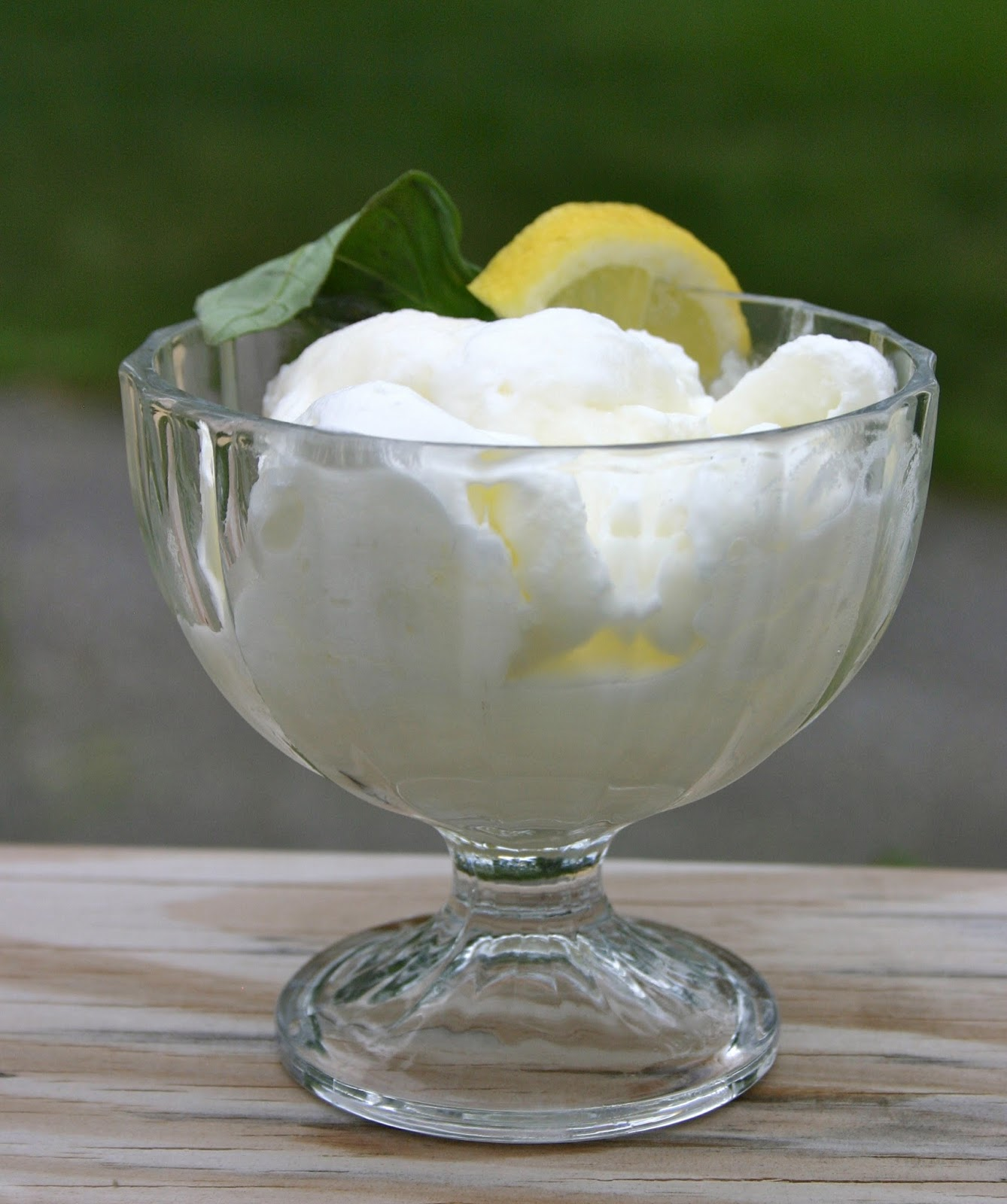 Bake It and Make It with Beth: Lemon Basil Sorbet