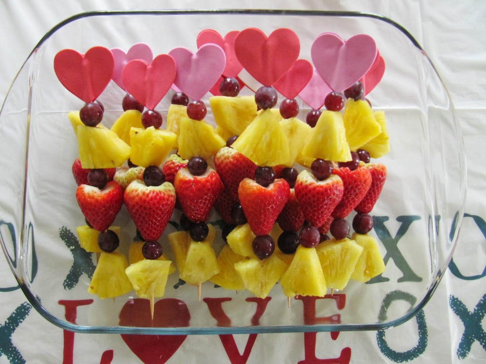 Valentine Fruit Valentine Fruit Kabobs The Wicker House