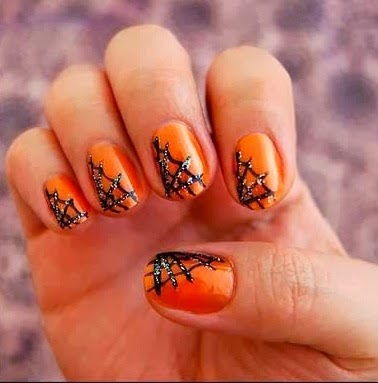 Spider Nail Art ideas