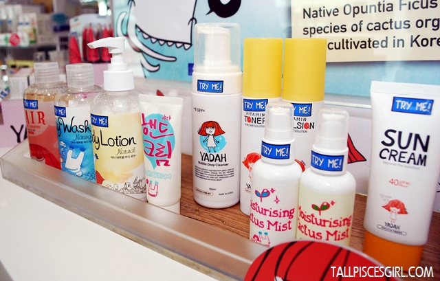 Besides skin care, they also have natural shampoo, body wash and body lotion!