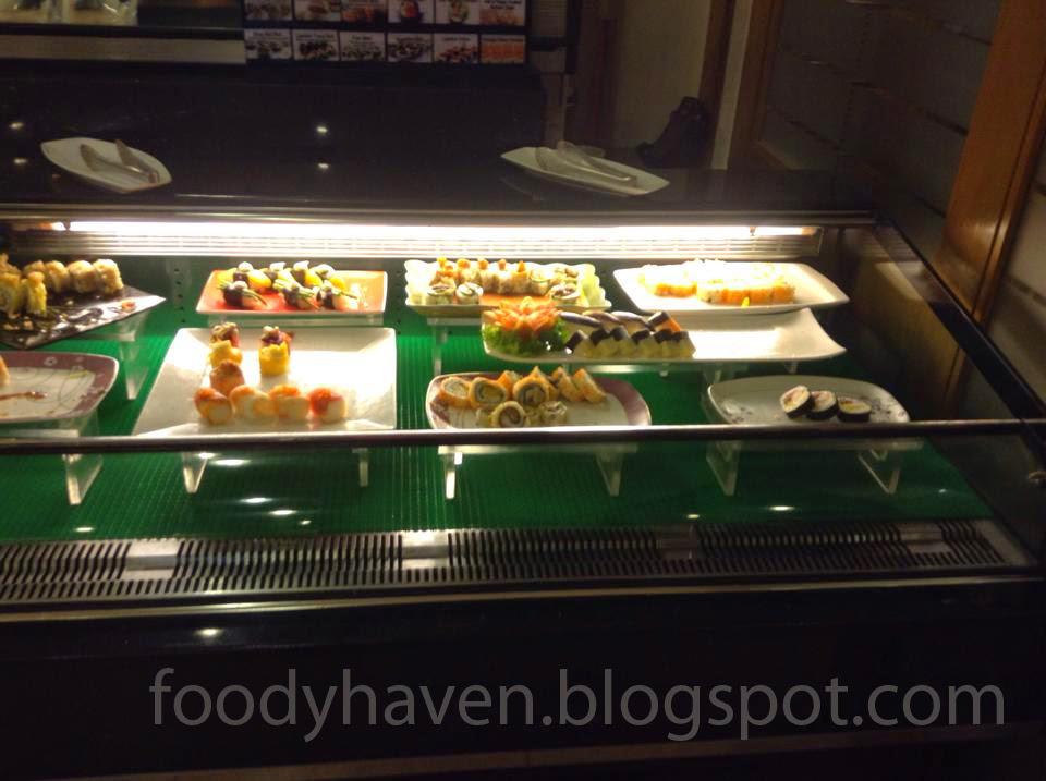 Sushi and Sashimi Station