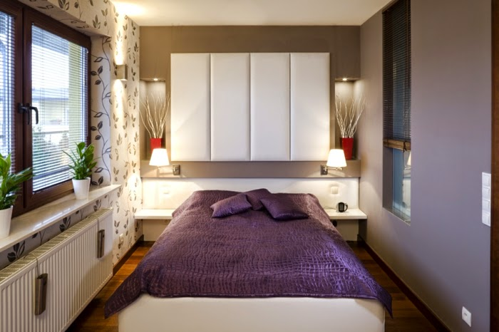 Wallpaper Ideas For Small Bedrooms ideas to make the small bedroom design as functional as possible