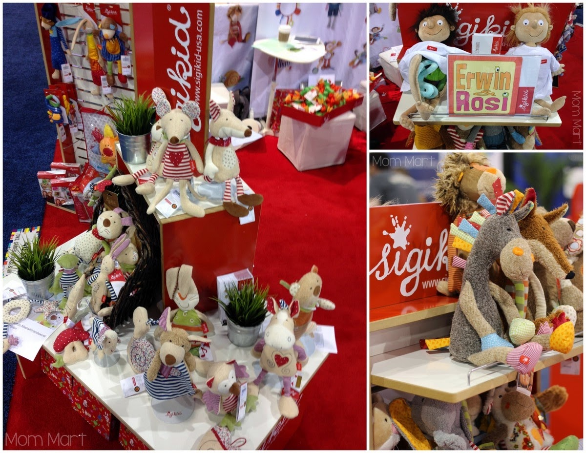 ABC Kids Expo 2014 The Toys of #ABCKids14 Sigikid