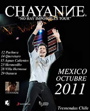 Chayanne Abren taquilla para concierto Mxico Octubre 2011