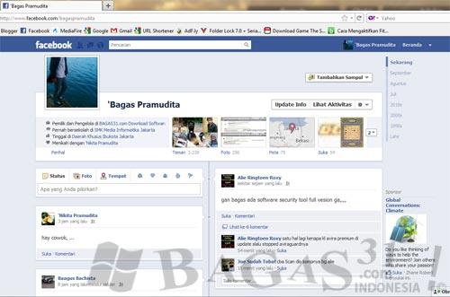Facebook Timeline | CobaTampilan Baru Facebook 10
