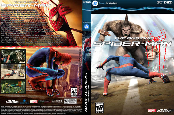 the amazing spider man 2012 game download