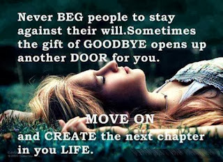 never bed people to stay against their will. Sometimes the gift of Goodbye opens up another door for you. Move on and create the next chapter in your Life
