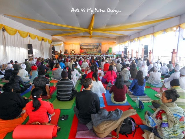 International Yoga Festival 2015 classes  - Parmarth Niketan Ashram in Rishikesh