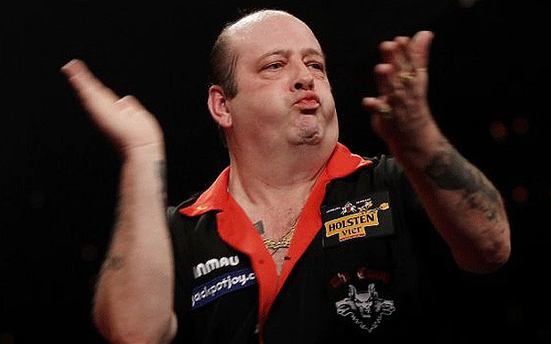 the count darts player