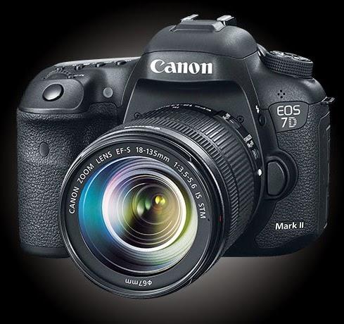 Review, Spesifikasi dan Harga Kamera DSLR Canon EOS 7D Mark II