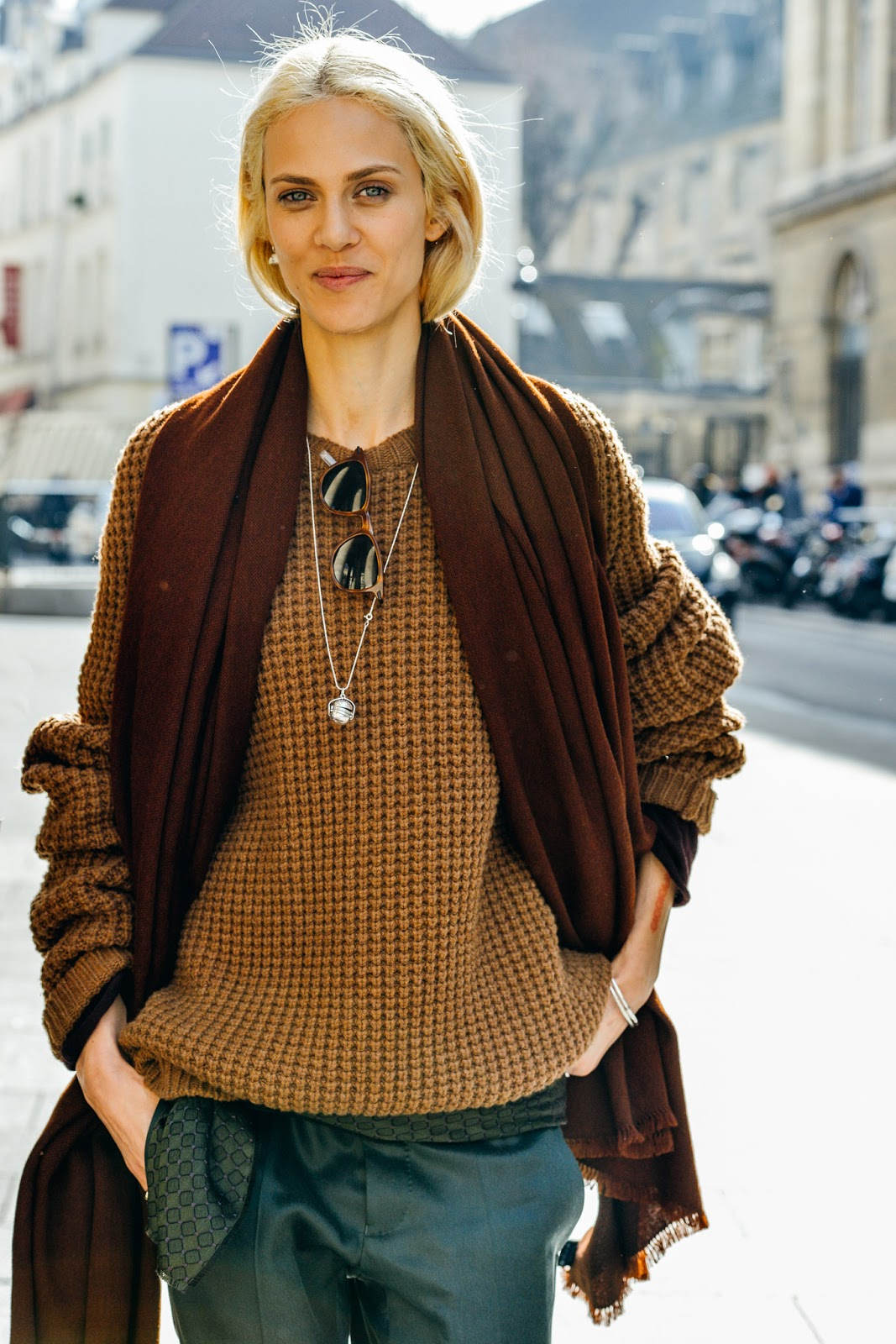 Model Street Style: Aymeline Valade's Androgynous Twist ...