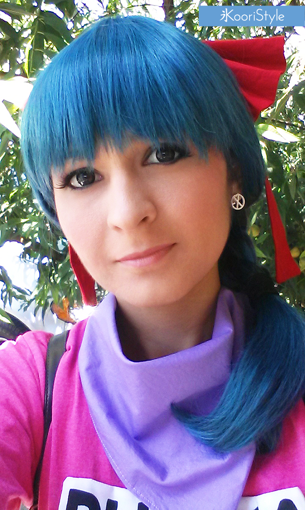 Koori KooriStyle Kawaii Cute Cosplay Bulma DragonBall Dragon Ball Radar Photoshoot Photo Shoot Cosplayer ブルマ ドラゴンボール コスプレ