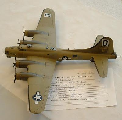 Hasegawa Boeing B-17 kit