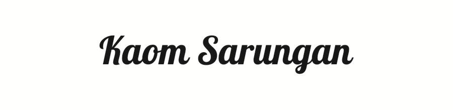 KAOM SARUNGAN