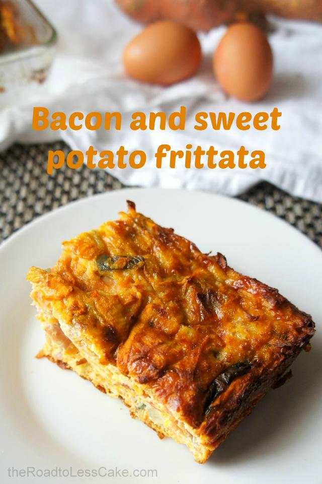 Slice of frittata