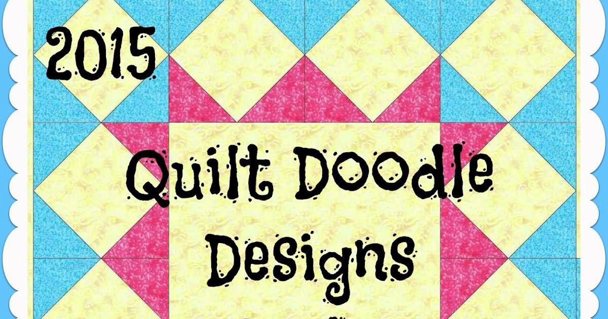 Quilt Doodle Doodles September S Free Block