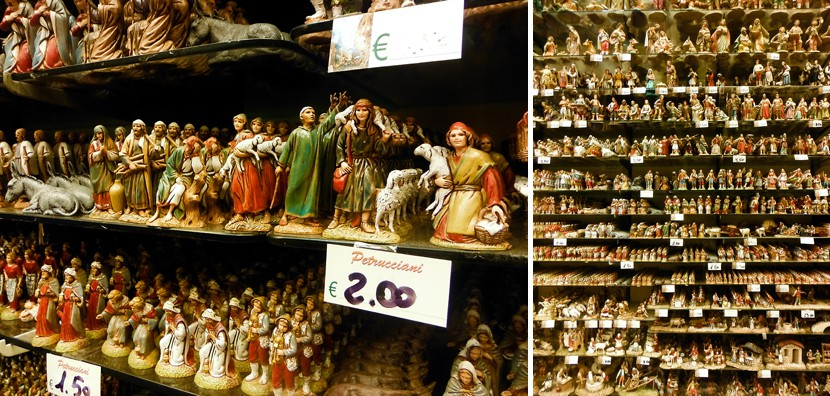 medieval figurines naples photo