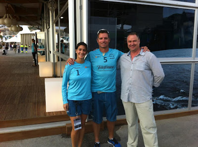 Pepe+Ribes+y+Helena+en+el+Volvo+Ocean+Race+17+de+octubre+2011 Impressions Village Volvo Ocean Race Alicante 2011