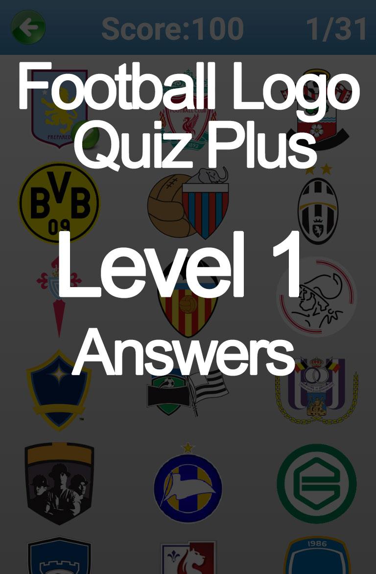 football logo quiz plus level 1 answers doors geek. Black Bedroom Furniture Sets. Home Design Ideas