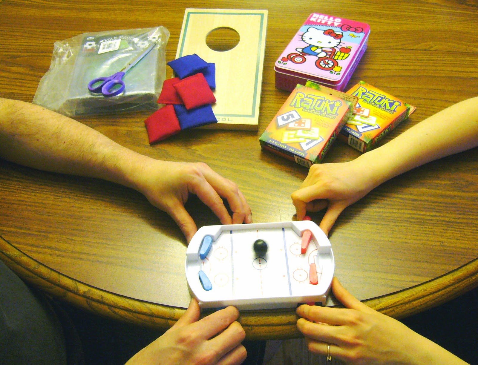 Game Testers for Operation Christmas Child gifts