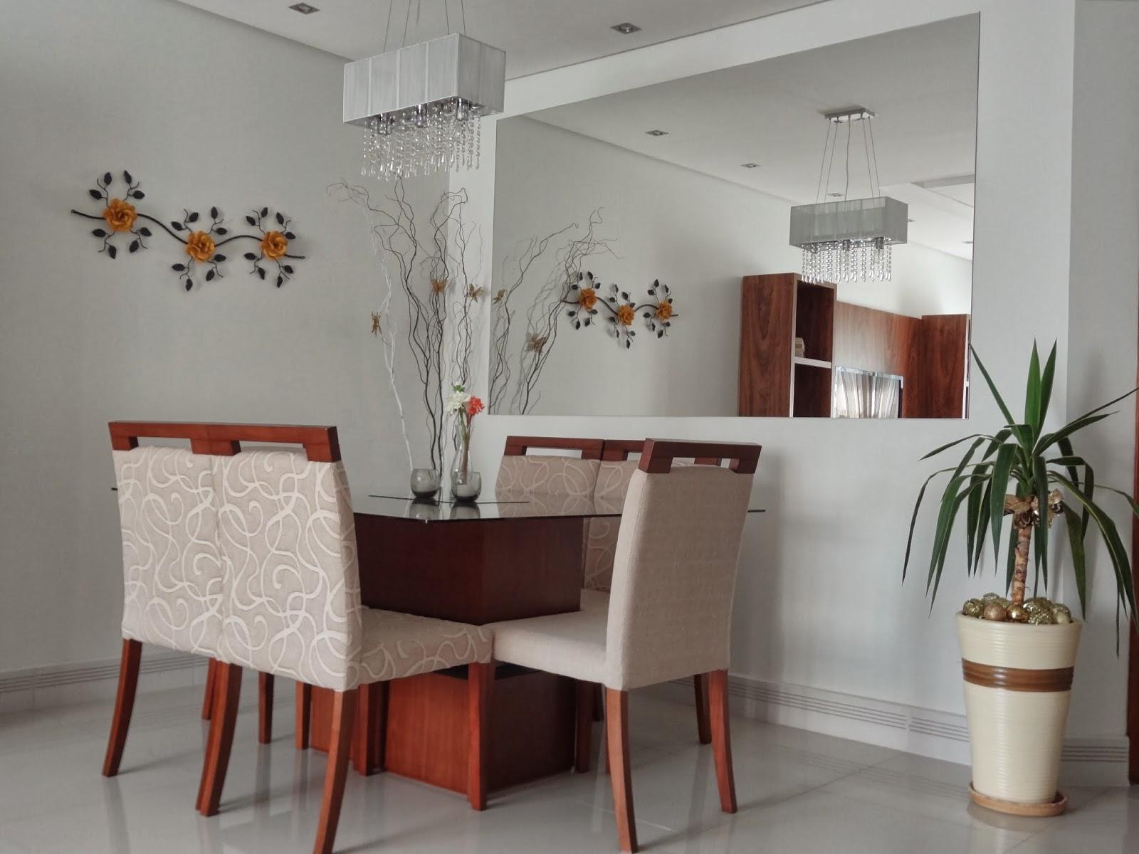 Decoração: 10 salas de jantar com espelhos! - Jeito de Casa - Blog ...