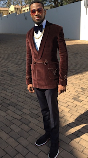 D'banj Look Cute At Event in South Africa (photos)