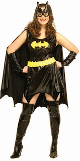 Batgirl Adult Plus Costume
