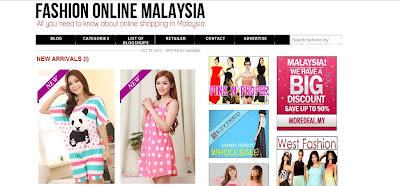 Fashion On Line Malaysia