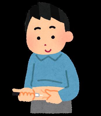 インスリン注射のイラスト