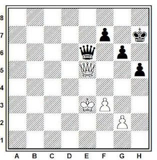 Final de ajedrez compuesto por Joaquim Travesset (03-Nov-2011)