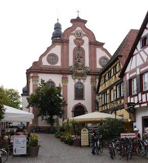 Bild 3: Martinskirche Ettlingen Westseite
