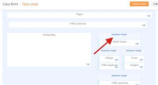 Cara Pasang Widget Ikuti via Email di Blog
