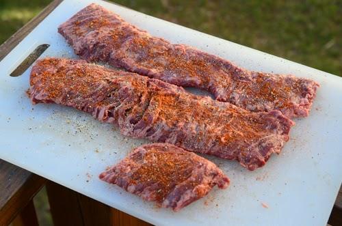 seasoned skirt steak