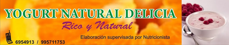 YOGURT NATURAL DELICIA