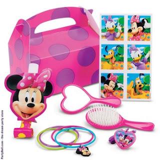 Disney Minnie Mouse Party Favor Box