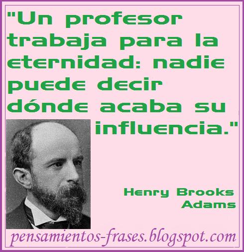 frases de Henry Brooks Adams