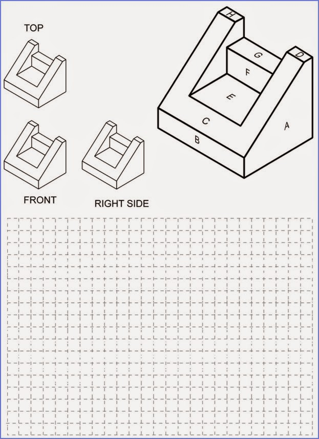 52104 chair o P in addition Orthographic Projection Worksheet together with Mechanical Engineering Multiple Choice in addition TDJ4M Design Drawing also Orthographic Projection 23. on 3rd angle orthographic projection examples